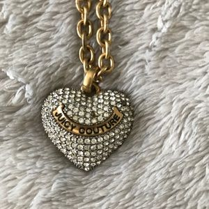 Juicy Couture Rhinestone Necklace